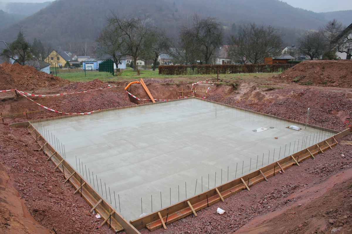 Awesome ... A Large Concrete Base Plate